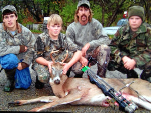 Wyoming County Whitetail Deer Farm Family